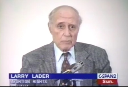 Image: Larry Lader in 2000