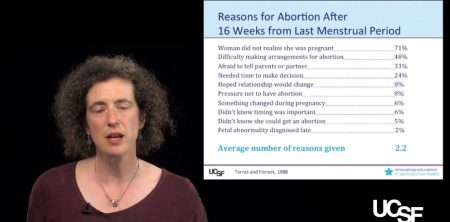 Abortion trainer Eleanor Drey on reasons women obtain late second trimester abortion