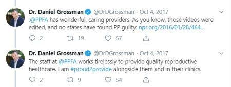 Daniel Grossman a Planned Parenthood abortionist