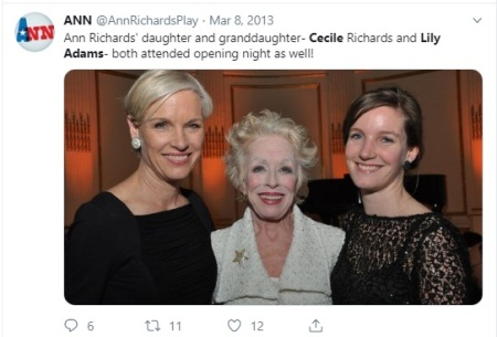 Lily Adams Cecile Richards