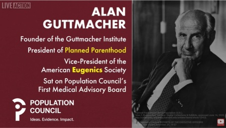 Population Council started by eugenicists