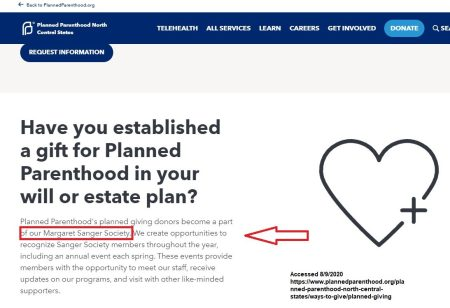 Planned Parenthood racist